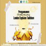 Pemenang Lomba Twibbon Special PKKMB 2019